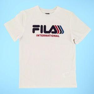 Fila boys medium T-shirt. 10/12